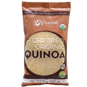 Vitacost Certified Organic Quinoa - Non-GMO -- 12 oz (340 g)