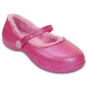Girl's Karin Lined Mary Jane Clog | Crocs