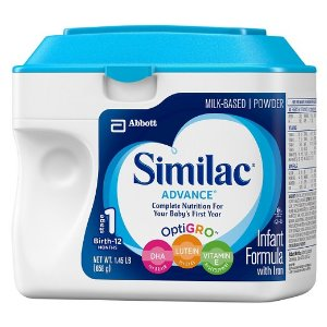 Similac Advance Infant Formula Powder with Iron - 1.45 lb : Target
