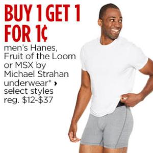 Mens Underwear, Socks, Boxers, Briefs & Tees - JCPenney