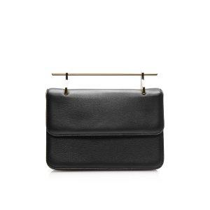 La Fleur du Mal Calf Leather Bag in Black   Moda Operandi