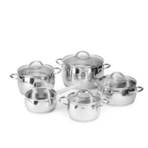 WMF - Stainless Steel 9-Piece Cookware Set - saksoff5th.com