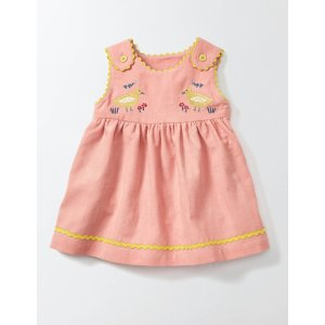 Farmyard Friends Cord Dress 73241 Occasion Dresses at Boden