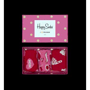 Pink Socks Box Set: 3 pairs of colorful socks | Happy Socks