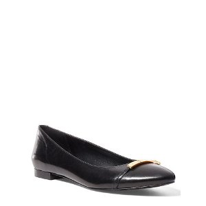 Farrel Leather Flat