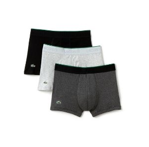 $26.99Lacoste Men's Essentials Collection 3-Pack Trunks