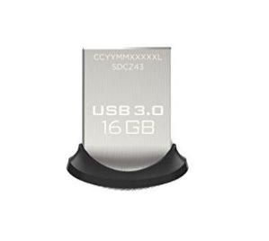 $7.67SanDisk Ultra Fit 16GB USB3.0 闪存盘