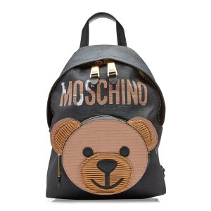 Backpack with Leather - Moschino | WOMEN | US STYLEBOP.COM
