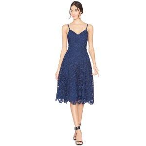 Sapphire Naomi Spaghetti Strap Fit Flare Dress