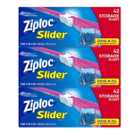 Ziploc Quart Slider Storage Bags, 126 Count