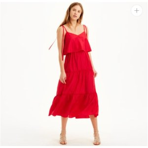 Quenby Tiered Dress