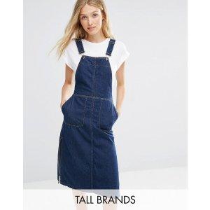 Vero Moda Tall 牛仔背带裙