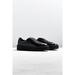 Puma Fenty By Rihanna Mens Cracked Leather Creeper Sneaker | Urban Outfitters