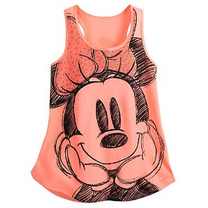 Minnie Mouse Tank Tee for Women | Disney Store