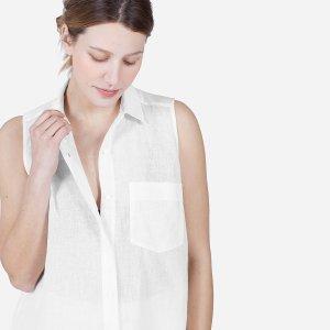 The Cotton-Linen Sleeveless | Everlane
