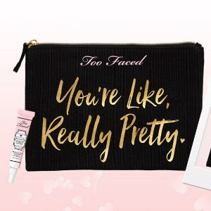 Free Hangover Primer + Cosmetic Bagwith Orders Overs $55 @ Too Faced