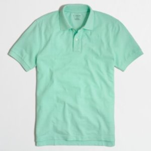 Slim Washed Piqu¿ Polo Shirt : Men's Polo Shirts | J.Crew Factory