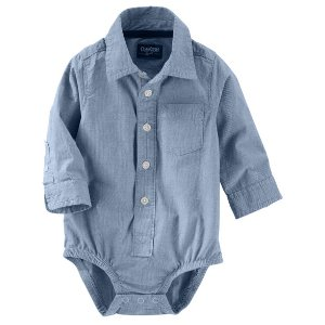 Baby Boy Button-Front Bodysuit | OshKosh.com