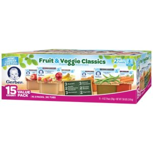 $14.98Gerber 2nd Foods Fruit & Veggie Value Pack (4 oz., 30 ct.)