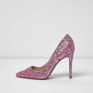 Pink glitter pumps - shoes - shoes / boots - women