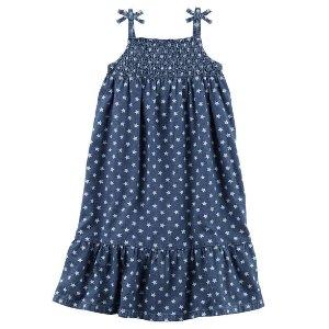 Toddler Girl Star Chambray Maxi Dress | Carters.com