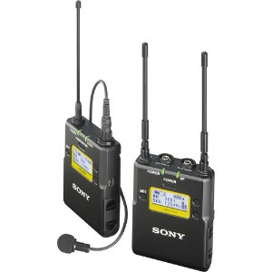 $379Sony UWP-D11 Integrated Digital Wireless Bodypack Lavalier Microphone System
