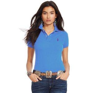 Skinny Fit Polo Shirt - Polo Shirts � Women - RalphLauren.com
