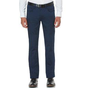 Slim Fit 5 Pocket Satin Pant