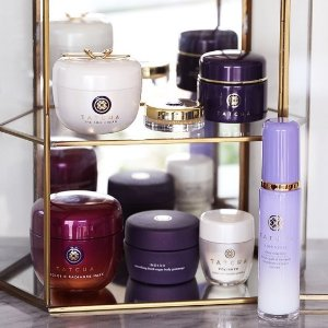 Complimentary Deep Hydration Firming Eye Serum and makeup bagWith orders $100+ @ Tatcha