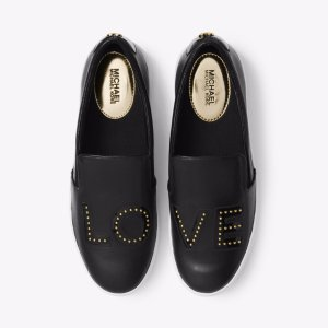 Trent Love Leather Slip-On Sneaker