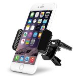 AVANTEK Universal Cell Phone Air Vent Car Mount Holder Cradle - Black