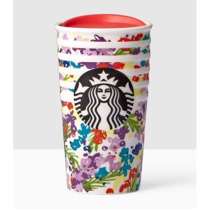 Floral Double Wall Traveler | Starbucks® Store