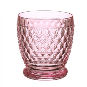 Boston Colored Double Old Fashioned : Rose 4 in - Villeroy & Boch