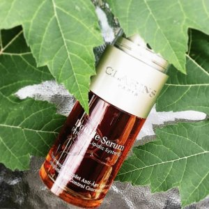 Up to 25% Off New Double Serum @ Clarins
