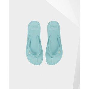 Womens Blue Flip Flops