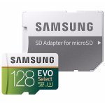 Samsung 128GB EVO Class 10 microSD Card with Adapter