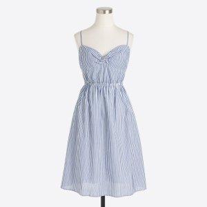 Petite striped dress
