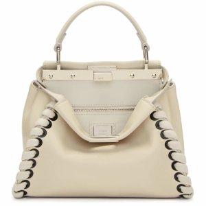 White Mini Peekaboo Bag