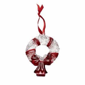 Celebrations by Mikasa® Glass Wreath Ornament