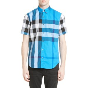Burberry Fred Check Sport Shirt