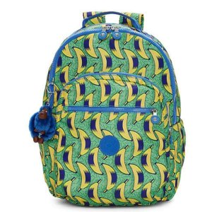 Seoul Large Printed Laptop Backpack - Early Dawn
