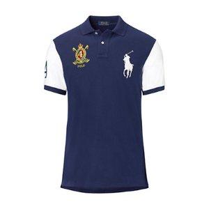Slim-Fit Big Pony Polo Shirt - Slim Fit  Polo Shirts - RalphLauren.com