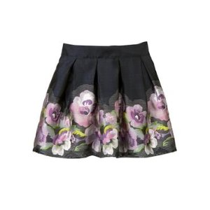 Baby Girl Midnight Floral Floral Skirt at JanieandJack