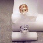 Swarovski Women's Ring Rhodium-Plated Glass Transparent (Size: 58)