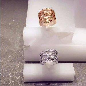 $54.8Swarovski Women's Ring Rhodium-Plated Glass Transparent (Size: 58)
