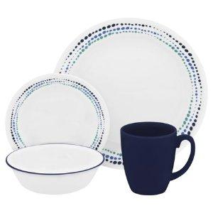 Corelle® Livingware™ Ocean Blues 16-pc Dinnerware Set