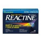 Reactine 强效抗过敏胶囊(48粒) 过敏救星