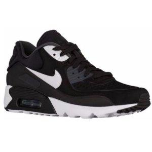 Nike Air Max 90 Ultra - Men's - Running - Shoes - Black/White/Anthracite/White