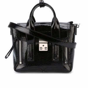3.1 Phillip Lim Pashli Mini Satchel | Blue&Cream