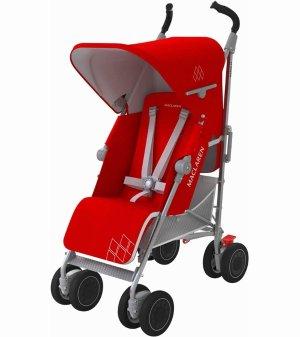 $249Maclaren 2016/2017 Techno XT Stroller - Cardinal/Silver